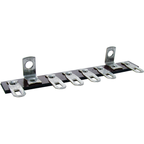 Terminal Strip - 6 Lug, 0 Common, Horizontal image 1