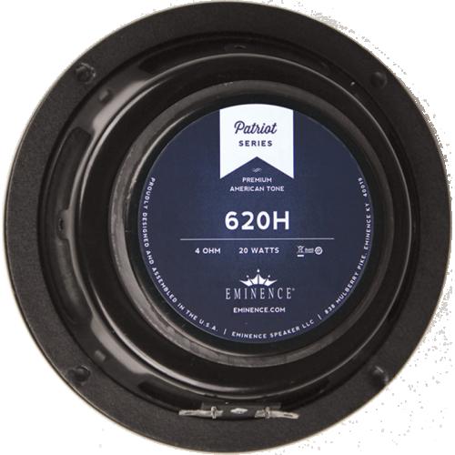 "Speaker - Eminence® Patriot, 6"", 620H, 20 Watts, 4 Ohm image 1"