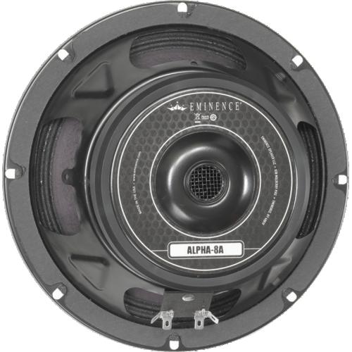 "Speaker - Eminence® American, 8"", Alpha 8A, 125 watts image 1"