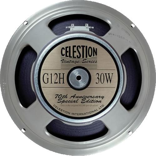 """Speaker - Celestion, 12"""", G12H, 30W image 1"""