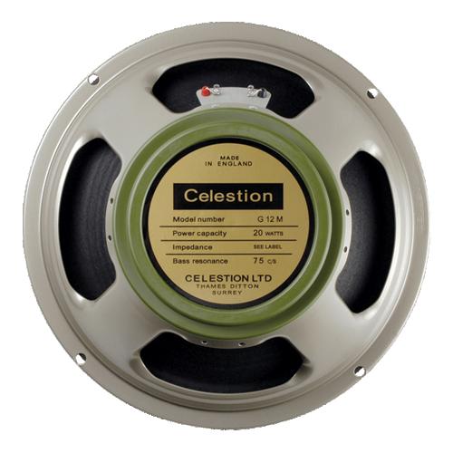 "Speaker - Celestion, 12"", G12M Greenback Heritage, 20W image 1"