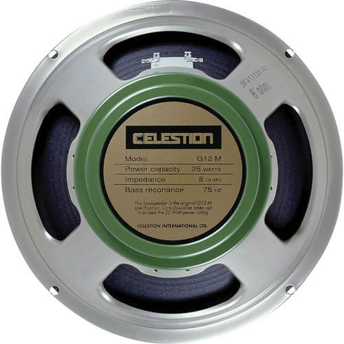 "Speaker - Celestion, 12"", G12M ""Greenback"", 25W image 1"