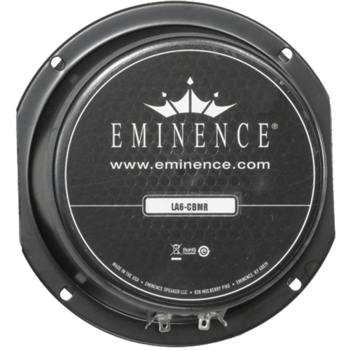 "Speaker - Eminence® American, 6"", LA6-CBMR, 150W, 8Ω image 1"