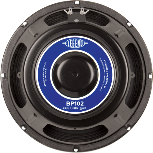 "Speaker - Eminence® Bass, 10"", Legend BP102, 200 watts image 1"