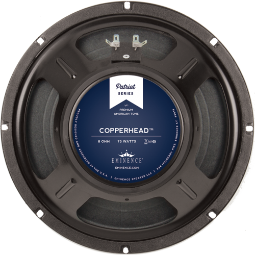 "Speaker - Eminence® Patriot, 10"", The Copperhead, 75W image 1"