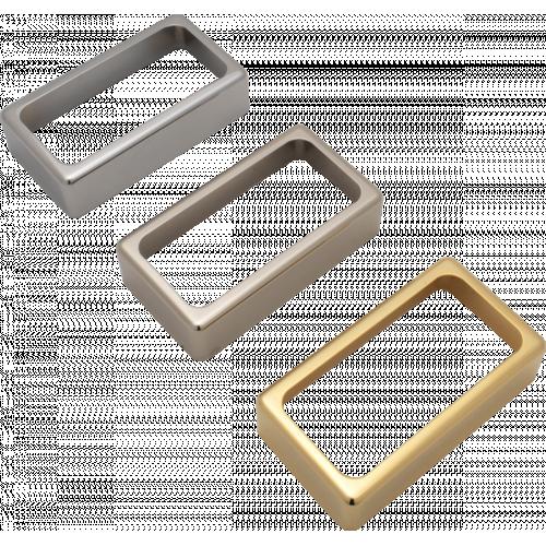 Cover - Humbucker, Open, Nickel Silver, USA image 1