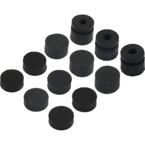 Grommets - Dunlop, Offset, 3x4 Different Sizes image 1