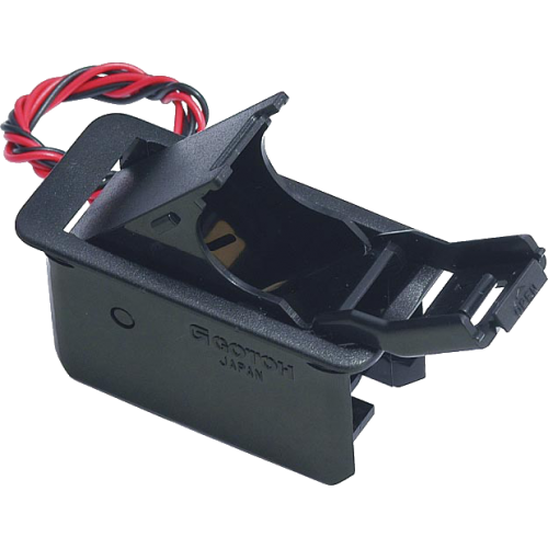 Battery Box - Gotoh, single, 9 volt, with removable adapter image 1
