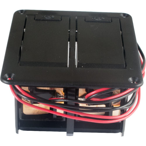 Battery Box - Gotoh, Dual, 9 Volt image 1