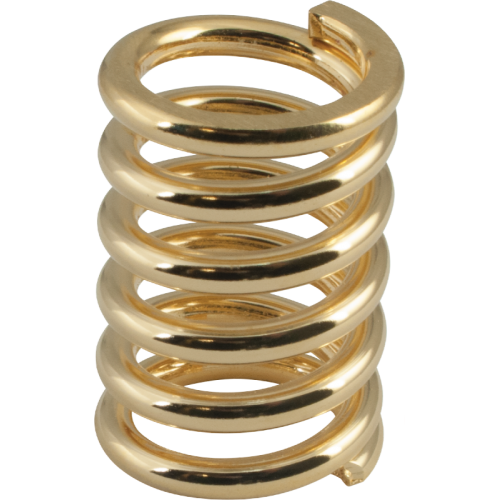 Guitar Part - Bigsby, Tension Spring, 1 1/8 in. Gold image 1