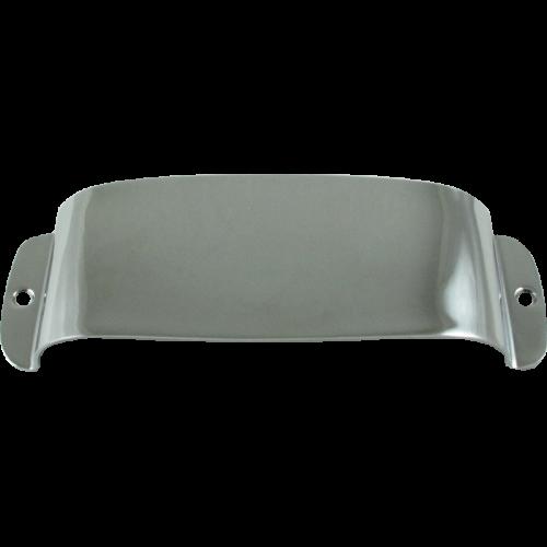 Cover - Fender®, for Vintage J-Bass, Chrome image 1