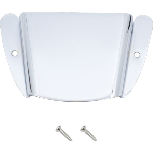 Bridge Cover - Fender®, '51 P-Bass / Tele Bass, Chrome image 1