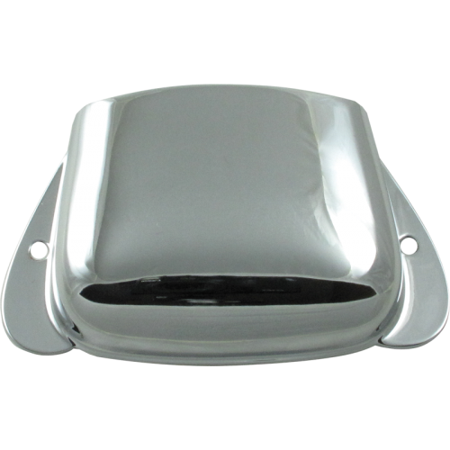Bridge Cover - Fender®, for Vintage P-Bass, Chrome image 1