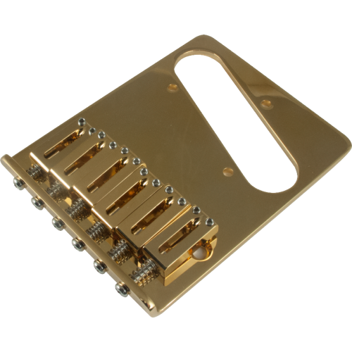 Gotoh Modern Bridge for Tele Gold image 1