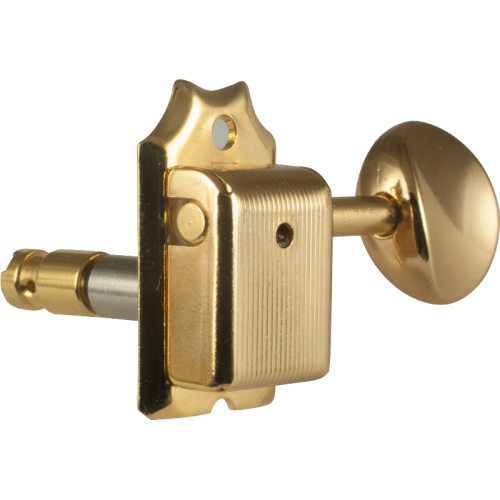 Gotoh Locking Vintage Oval Knob Gold Tuners (6-in-a-line) image 1