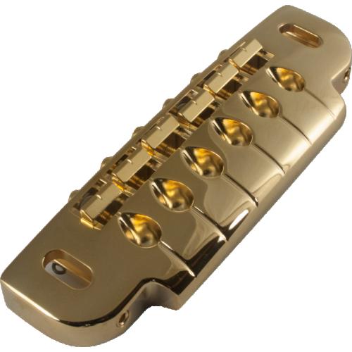 Gotoh Combination Bridge/Tailpiece Gold image 1
