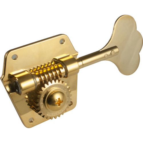 Tuners - Gotoh, 4 in line, Gold, for Pre-CBS Fender Bass image 2
