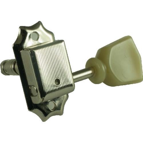 Tuner - Gotoh, Kluson-Style Locking, nickel, 3 per side image 1