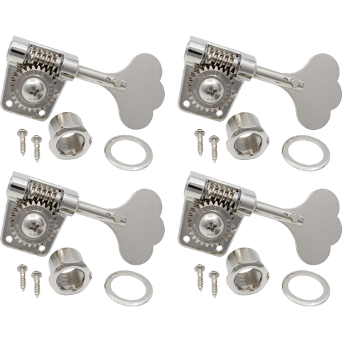 Tuners - Gotoh, Res-O-Lite, Vintage Style Bass, nickel, 4 in line image 1