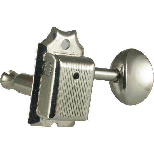 Gotoh Vintage Oval Knob Tuners Nickel (6-in-a-line) image 1