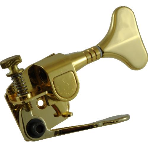 Tuner - Hipshot, M4 Bass Xtender, Gold image 1