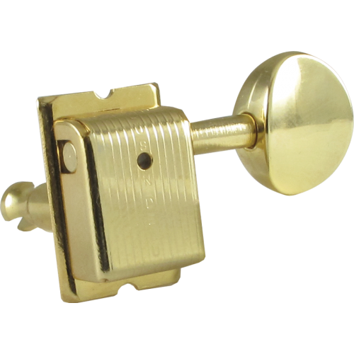 Tuning machine - Kluson, 6 in line, Traditional with oval button image 1