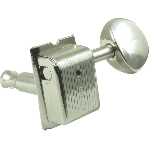 Tuning machine - Kluson, 6 in line, Traditional with oval button image 2
