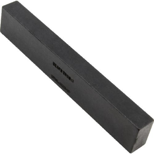 "Nut - Tusq XL, ¼"" Slab, Black, 63.5mm x 6.35mm x 11.1mm image 1"