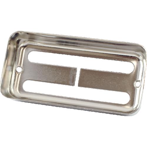 Pickup Cover - Nickel, Brass image 2