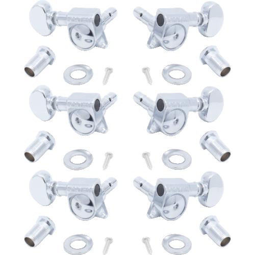 Tuners - Grover, Mini Lock Rotomatic, 3 per side, 18:1 image 1