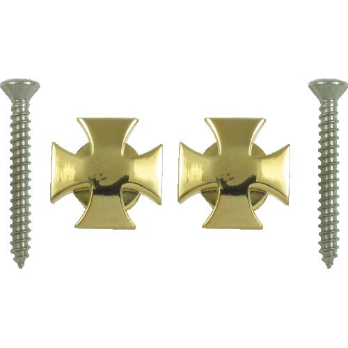 Strap locks - Grover, Iron Cross, Gold image 1