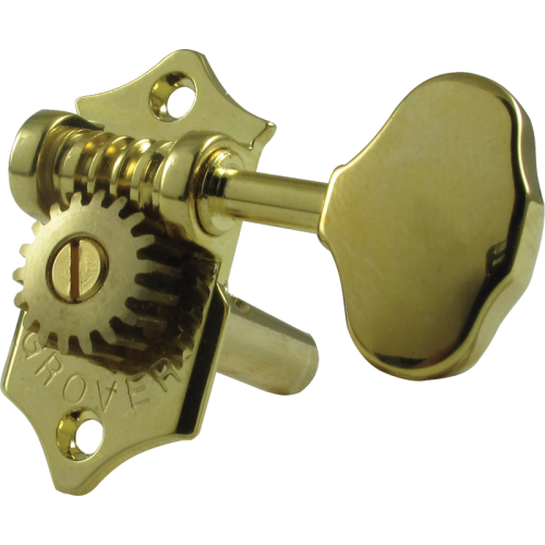 Tuning machine - Grover Sta-Tite, 3 per side horizontal, gold image 1