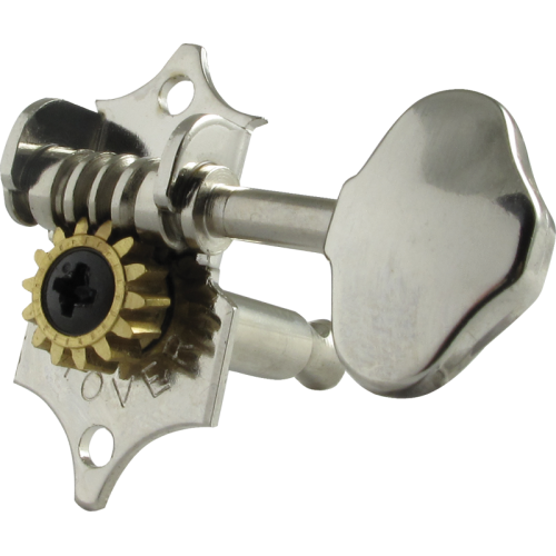 Tuners - Grover, Sta-Tite, 3 per side vertical, nickel image 2