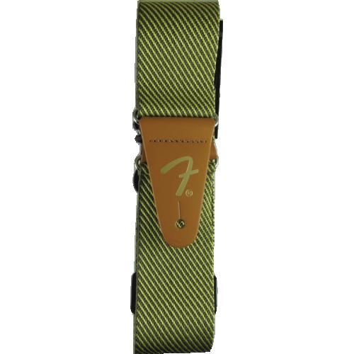 """Guitar Strap - Fender, 2"""", Vintage, Tweed image 2"""