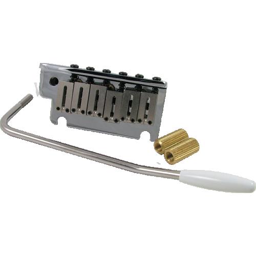 Bridge - Fender®, American Series, Strat Tremolo Assembly, Chrome image 1
