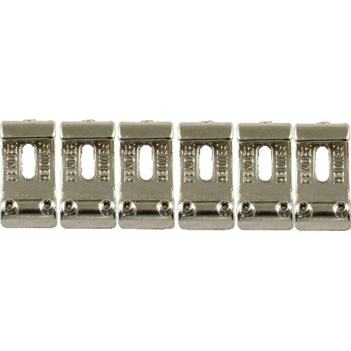 Bridge saddle - Fender®, for Vintage Stratocaster, 6 pieces image 1
