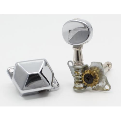 Tuners - Original Fender®, Affinity Strat, Chrome image 2