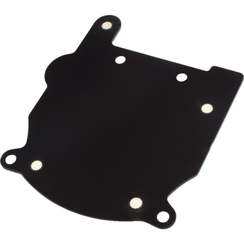 Pictured: Powder Coated Black