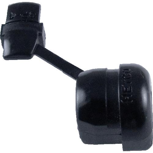 """Strain Relief - Nylon, 0.12"""" x 0.22"""" Wire (SPT-1) image 1"""
