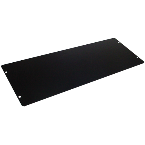 "Cover Plate - Hammond, Steel, 13.5"" x 5"", Black image 1"