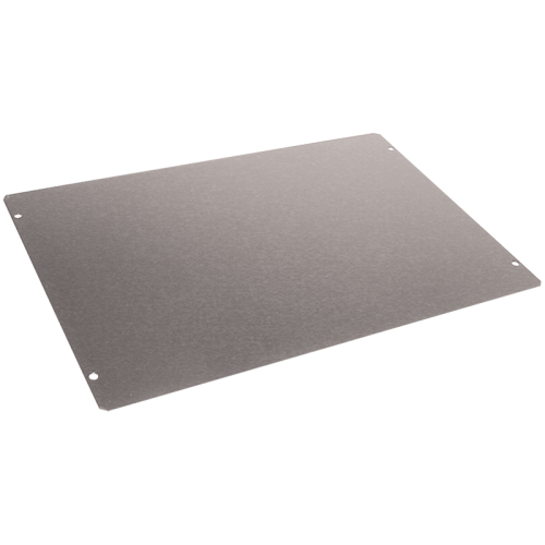 "Cover Plate - Hammond, Steel, 12"" x 8"", 20 Gauge image 1"