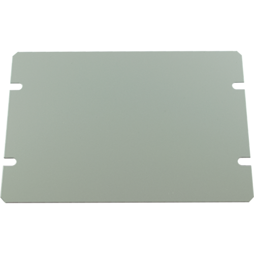 "Cover Plate - Hammond, Steel, 6"" x 4"", 20 Gauge image 1"