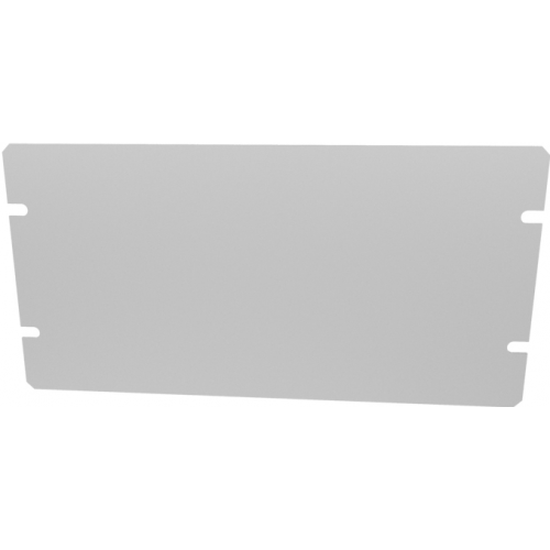 "Cover Plate - Hammond, Aluminum, 8"" x 4"", 0.04"" Thick image 1"