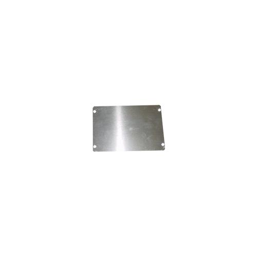 "Cover Plate - Hammond, Aluminum, 6"" x 4"" image 1"