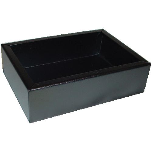"Chassis Box - Hammond, Steel, 7"" x 5"" x 2"", Black image 1"