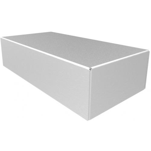 "Chassis Box - Hammond, Aluminum, 8"" x 4"" x 2"" image 1"