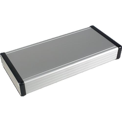 "Chassis box - Hammond, Aluminum, 8.66"" x 4.06"" x 1.2"" image 1"