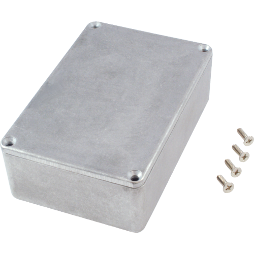 "Chassis Box - Hammond, 1590B3, Diecast, 4.57"" x 3.03"" x 1.32"" image 2"