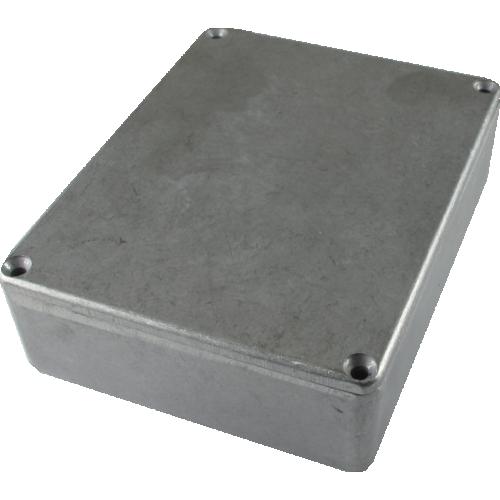 "Chassis Box - Hammond, Unpainted Aluminum, 4.67"" x 3.68"" x 1.18"" image 1"