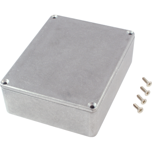 "Chassis Box - Hammond, 1590BB2, Diecast, 4.7"" x 3.7"" x 1.5"" image 2"